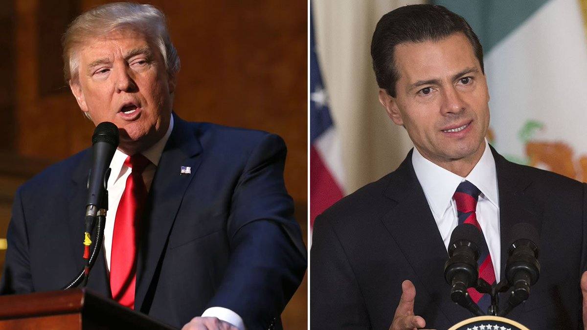 Trump accepts Mexico president's invitation to meet Wednesday