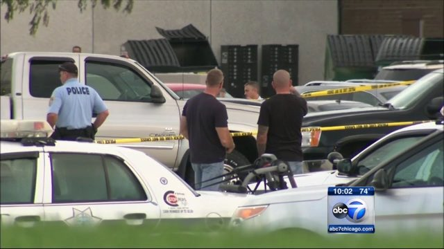 Bullets fly in Joliet mall parking lot as DEA agents wound drug suspect during shootout.