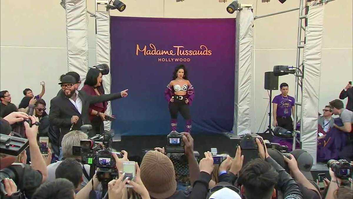 Selena wax figure unveiled at Madame Tussauds Hollywood