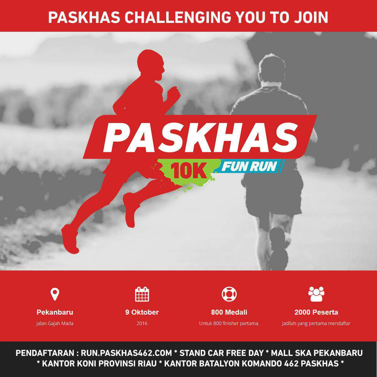 Paskhas 10K Fun Run