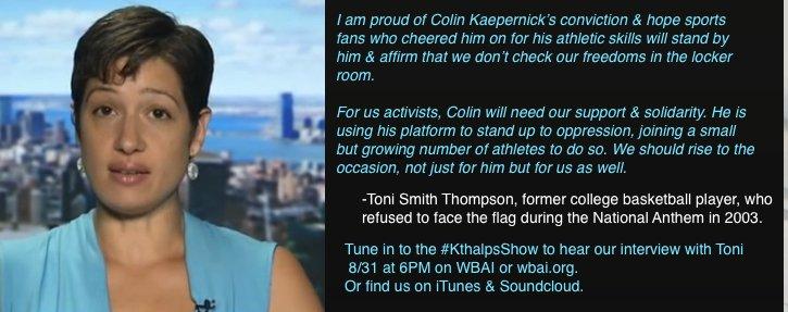 """Katie Halper on Twitter: """"psyched to talk Colin @Kaepernick7 ..."""