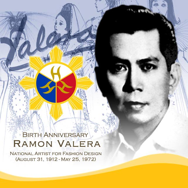 Ncca Ph On Twitter Today Is The 104th Birth Anniversary Of Ramon Valera National Artist For Fashion Design Https T Co S09llqcd6j