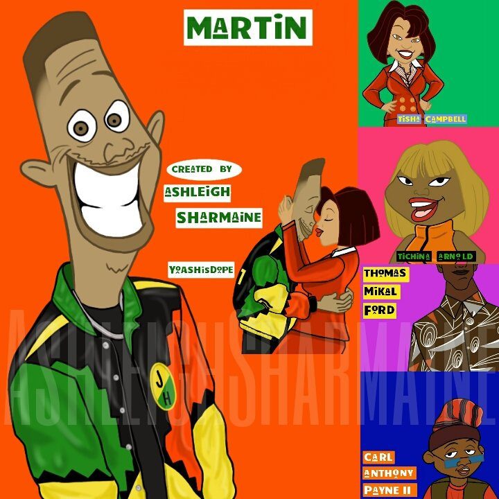 Kid N Play Cartoon Characters : Ashleigh sharmaine on twitter quot martin the proud family