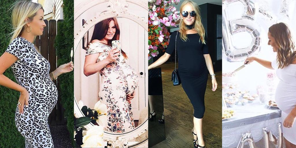 24f93e56dee05 These bump-friendly dresses are all you need to achieve baby-shower chic 💕