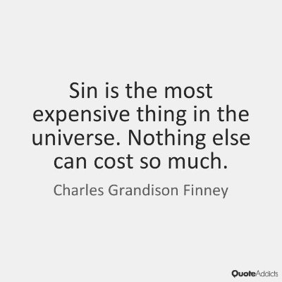 """Sin is the auctioning of our souls to the lowest bidder while ignoring the highest."" #soulsupply https://t.co/EDbEPF6OVW"
