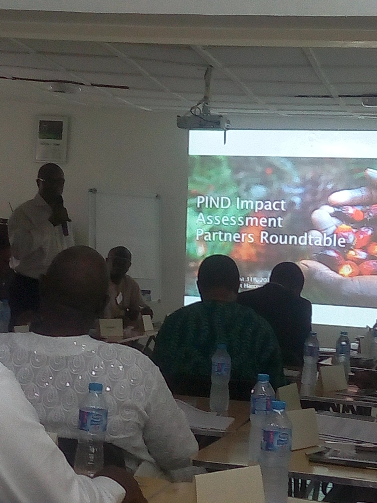 @PINDFoundation's Programs Director Dara Akala giving a background on the #NDImpact and PIND's work so far https://t.co/jUGn7rWKqn