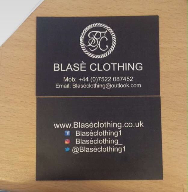 Blas clothing on twitter here are our new business cards also 410 am 31 aug 2016 colourmoves