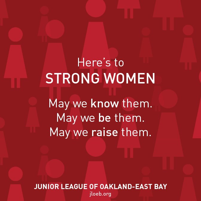 #strongwomen #empoweredwomen #inspiration #jloeb #juniorleague