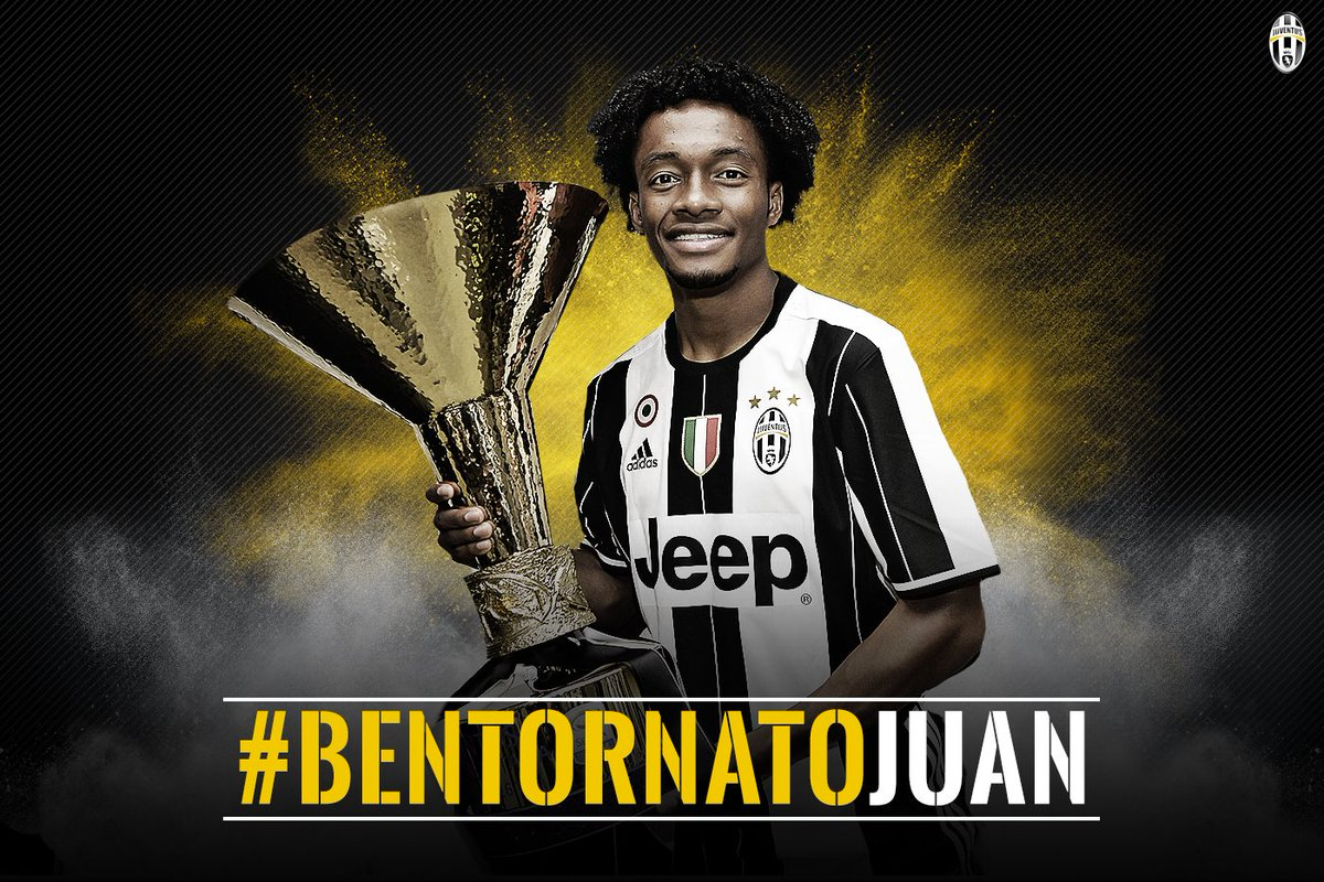 OFFICIAL: @Cuadrado rejoins #Juve from @ChelseaFC: https://t.co/GOSwhA4HXu #BentornatoJuan