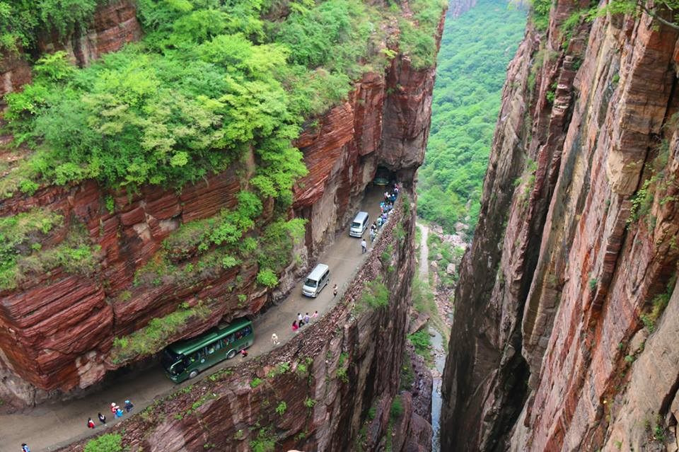 Image result for Guoliang Tunnel, China pic