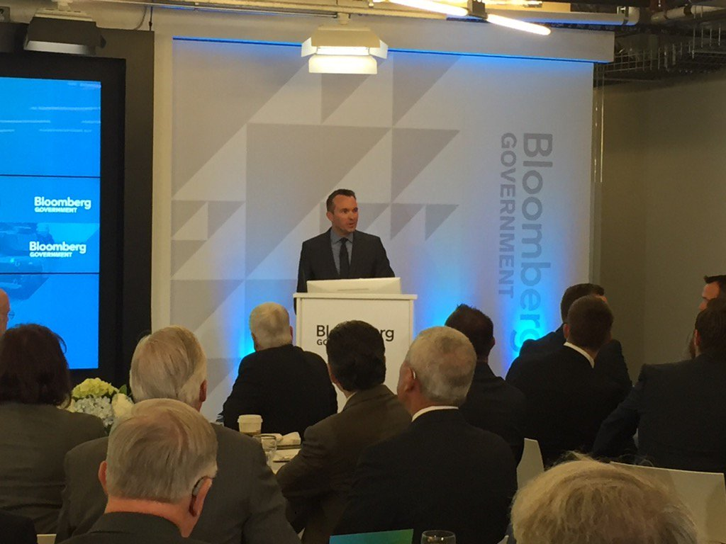 At Bloomberg Gov. @BGOV Secretary Fanning is talking about acquisition of new technologies for the Army #BGOVDefense