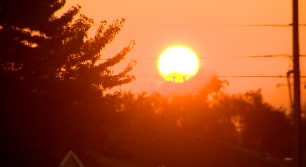 Beautiful sunrise this hump day! 9newsmornings