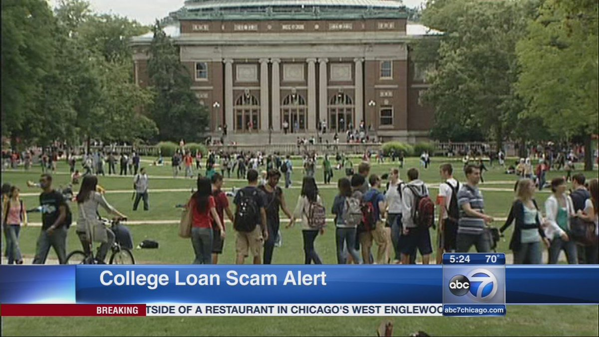 Better Business Bureau warns of scam targeting college students with loan debt