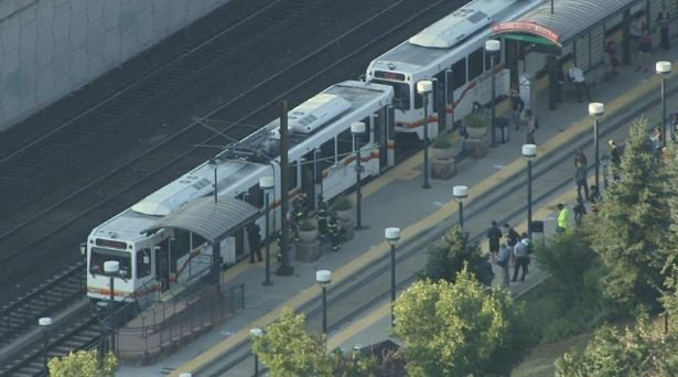 RTD C and D Lines are stopped in both directions at the request of Littleton FD due to brake failure 9newsmornings