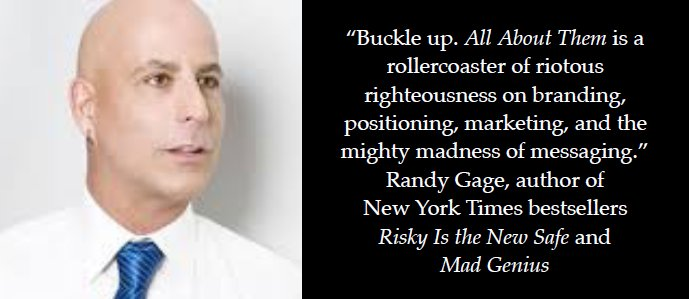 #AllAboutThem is a rollercoaster - order now and enjoy the ride: https://t.co/QTj8IH7uJa via @Randy_Gage https://t.co/TyWn7Umfvr
