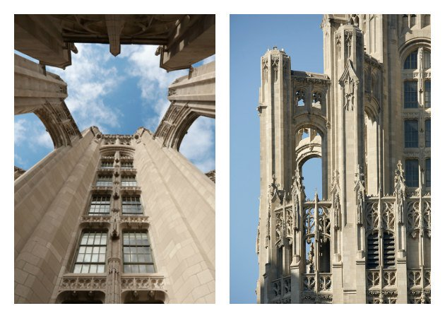 From The Crown on down: Tribune Tower's architectural significance via @ChiTribGraphics