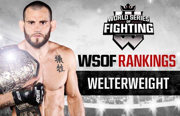 WSOF Rankings: @jonfitchdotnet Sits Atop Welterweight Division, @jakeshieldsajj is No. 1: bit.ly/1LwXUx8
