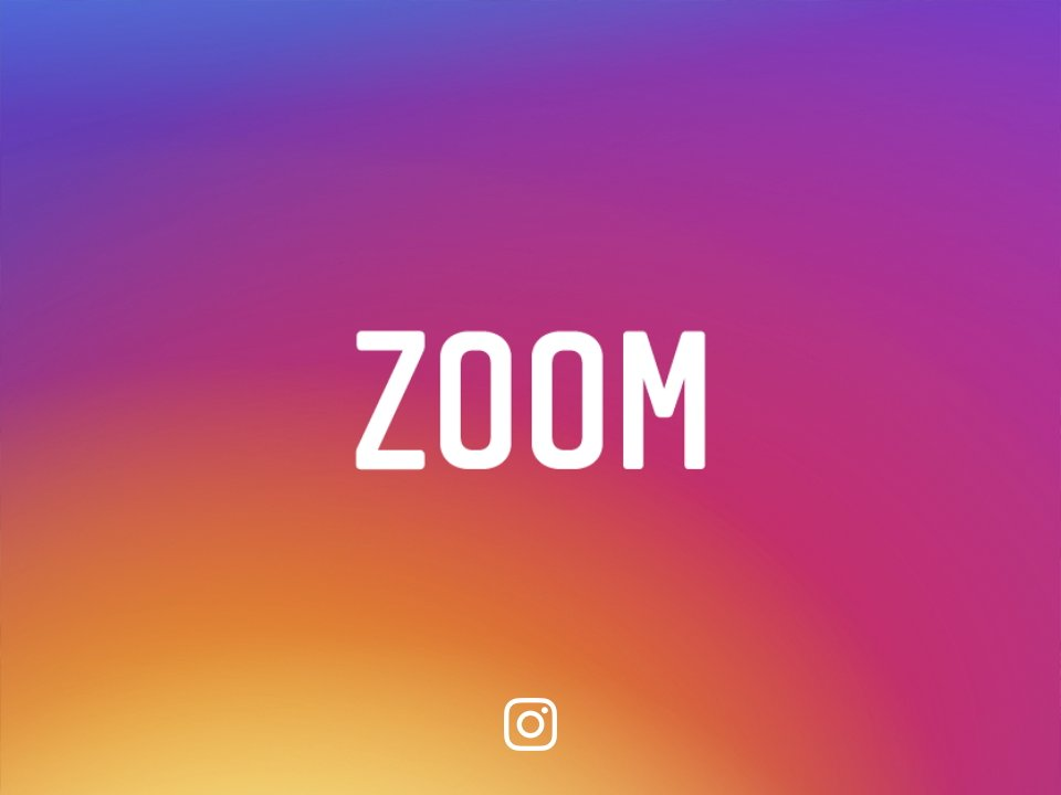 Today we're bringing ZOOM to Instagram on iOS! Pinch to zoom on photos & videos in feed, on profiles and on Explore