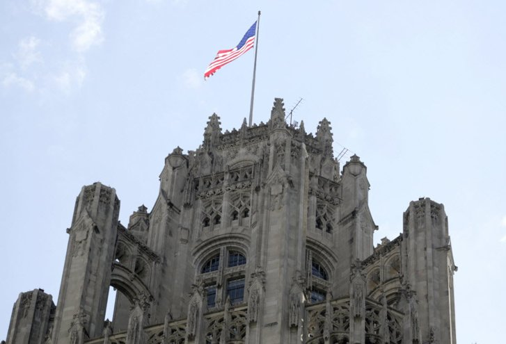 Trib Tower sale is another milestone on death march of newspapers, @NeilSteinberg writes.