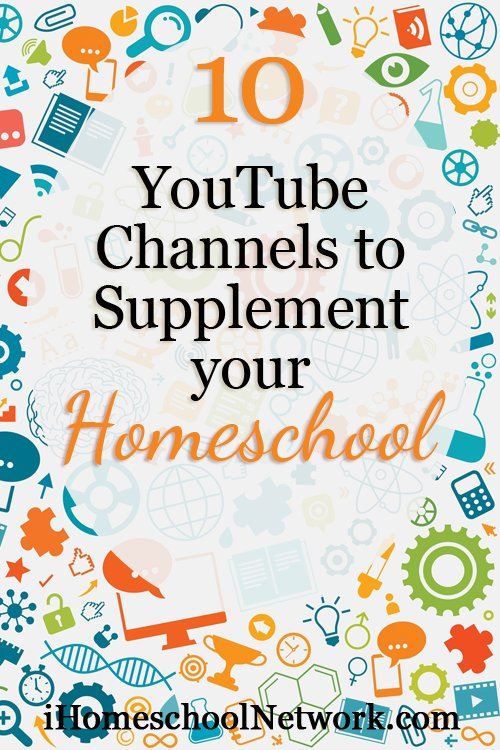 10 YouTube Channels to Supplement Your #Homeschool via @ihomeschoolnet #ihsnet https://t.co/iBmCykaHtN https://t.co/Mj7WkDBycw