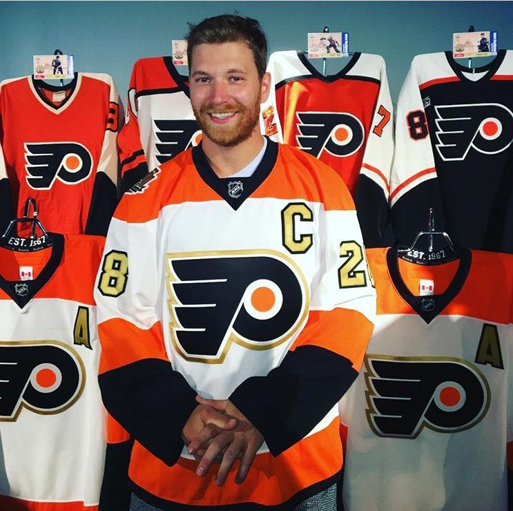 Looking good @28CGiroux !