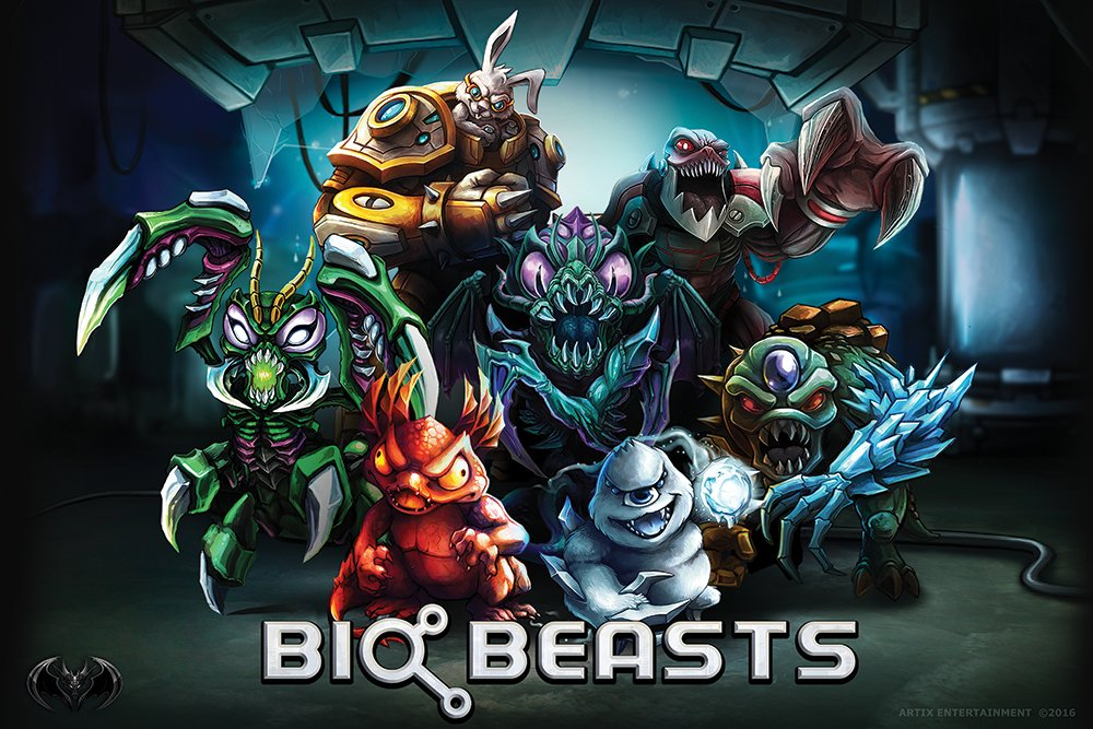 """BioBeasts on Twitter: """"All 7 #BioBeasts! Which one is your favorite? w/ @ArtixEnt #gamedev #painting #beasts #indiedev… """""""