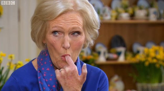No soggy bottoms, but a stiff one. Oh, stop it #GBBO 😜 https://t.co/jbLi7dB7uE