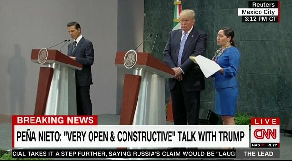 The moment when Trump realizes that being president might be kinda boring and not fun like in the movies. https://t.co/7zPziAPUy3
