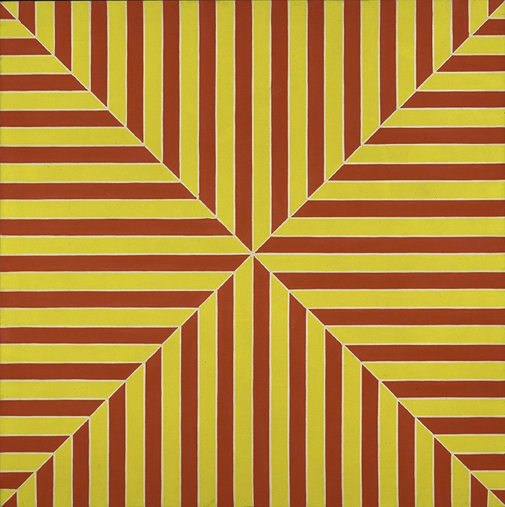 FRANK STELLA: A RETROSPECTIVE is on view for only three more weeks! Have you seen it yet? 60years