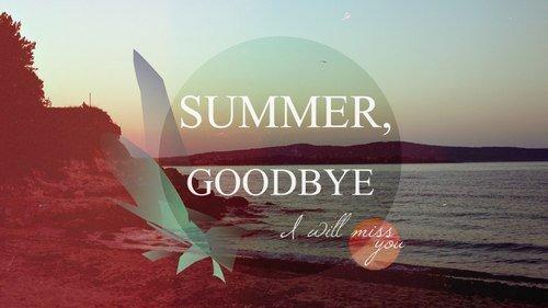 Картинки досвидание лето