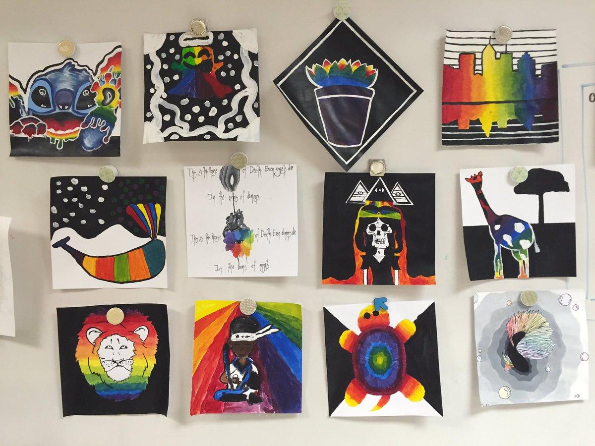 Co Color Wheel Art - Kmhs art davis on twitter 2d design pieces incorporating the color wheel using contrast w black and white compart cobbartrocks https t co 49rdizrndo