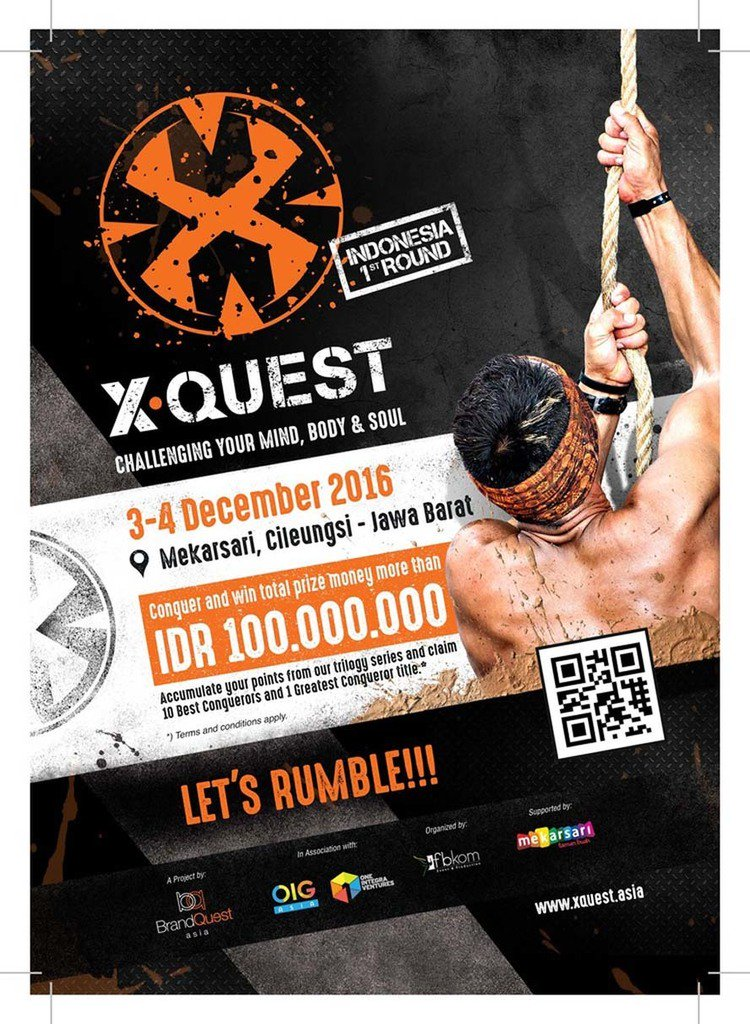 X-Quest | The Indonesian Obstacle Race