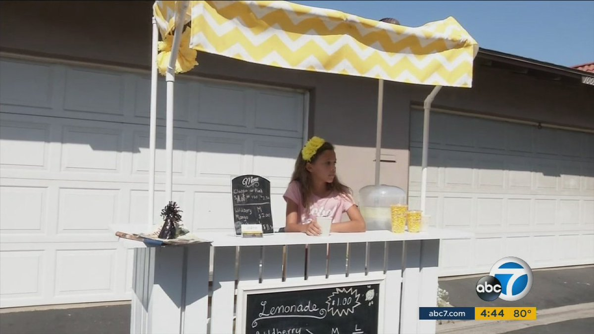 Orange County girl is getting permits to expand thriving lemonade stand