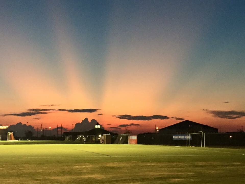 taken by Victor C. from the Houston Sports Park kprc2 sunset