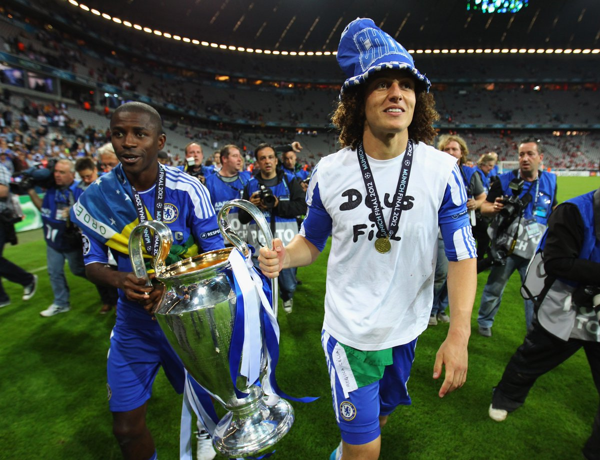 UEFA Champions League On Twitter Done Deal UCL Winner David Luiz Returns To Chelsea A Three Year From French Paris DeadlineDay