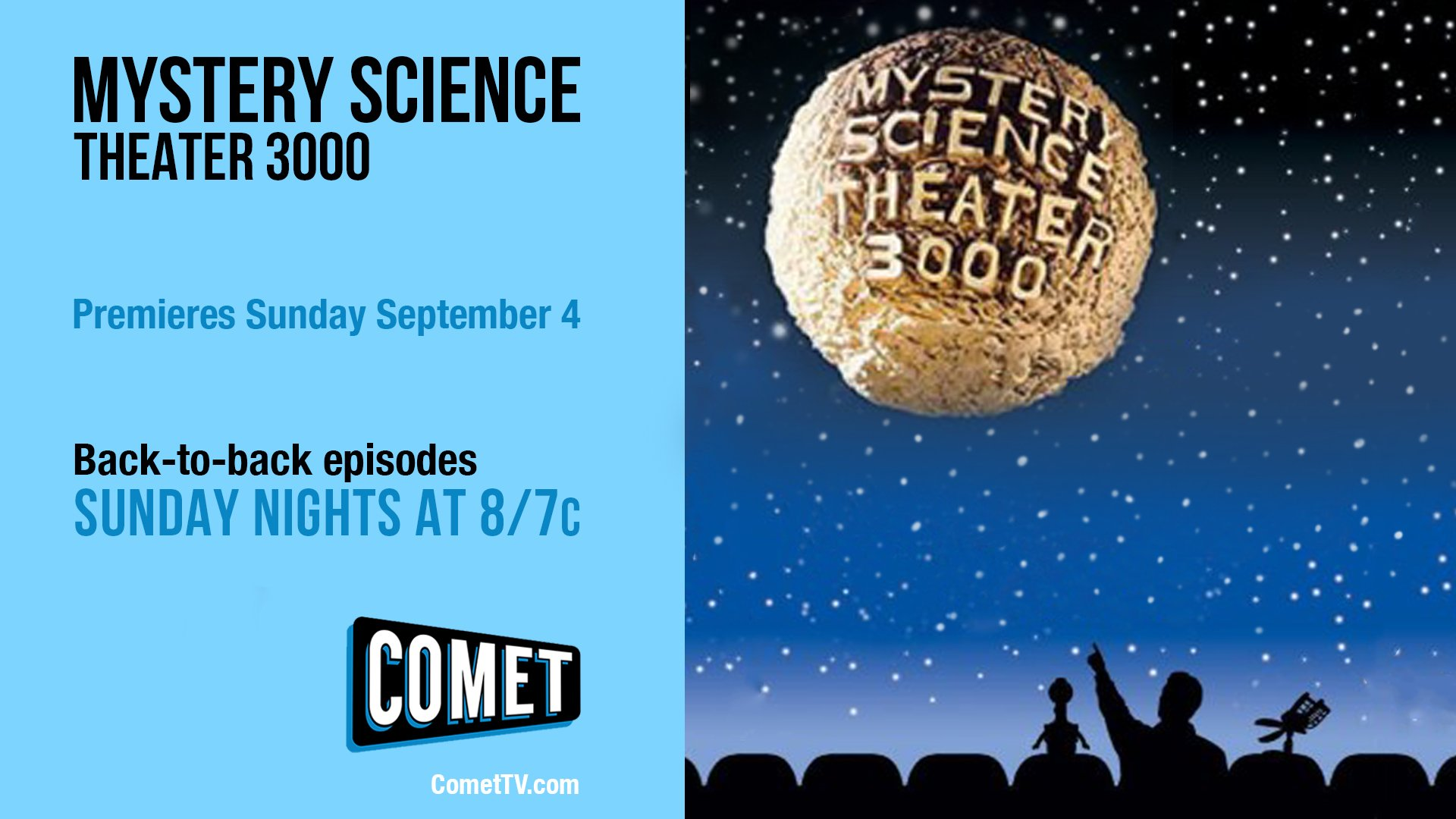 Watch Comet On Twitter Mystery Science Theater 3000 Mst3k