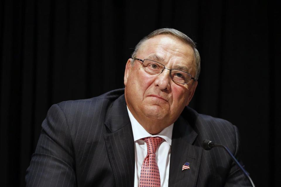 """I will no longer speak to the press ever again after today,"" Maine Gov. Paul LePage says"