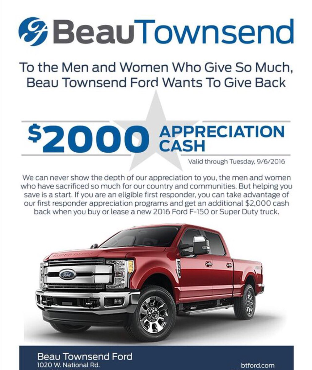 Beau Townsend Ford >> Beau Townsend Ford On Twitter