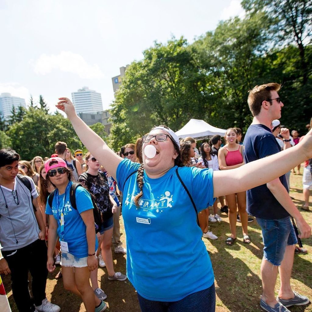 Ryerson University students unofficially broke the Guinness World Record for the most peop…