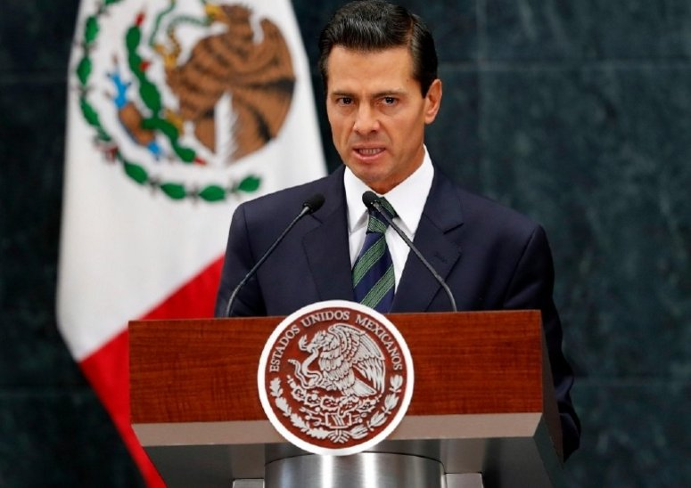 Mexican president contradicts Trump on wall