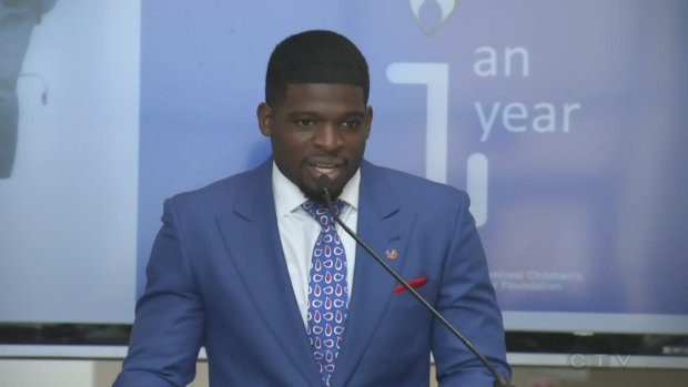 Subban talks hospital commitment, World Cup, in return to Montreal