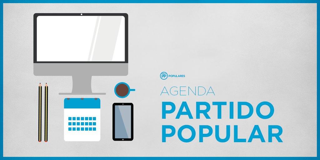 ⏰ #FelizFinde Ésta es la #agenda del partido para hoy https://t.co/S74...