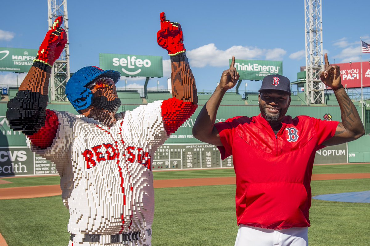 Check out this life-size Lego replica of David Ortiz