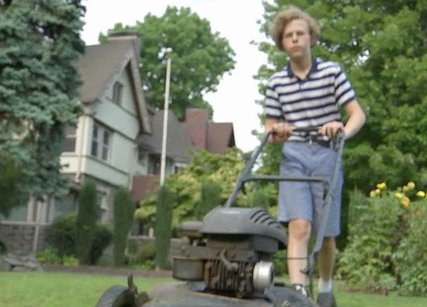 14-year-old Overbrook boy helps elderly woman who was cutting her lawn with scissors