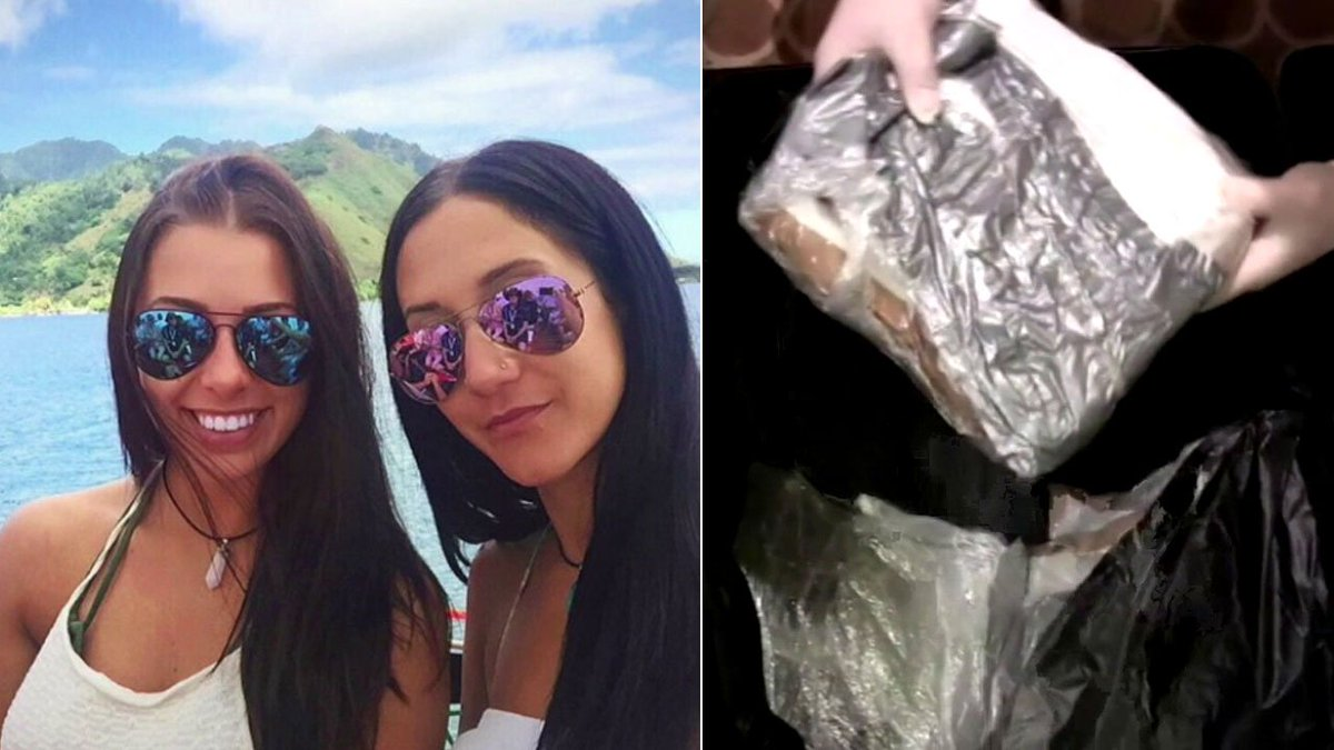 Women documented lavish cruise on Instagram as they allegedly smuggled $23M in cocaine