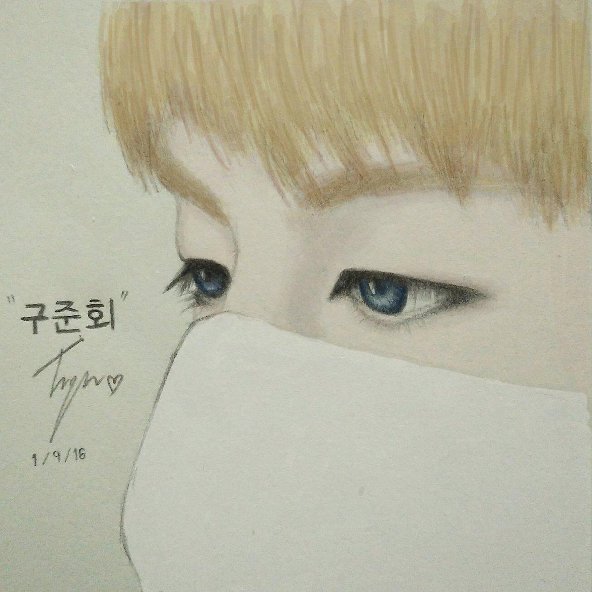 I love his blue eyes #Junhoe #FanartiKON #fanart #iKON #ก็กูจุนฮเวอะ<br>http://pic.twitter.com/RW1WbCrzIQ