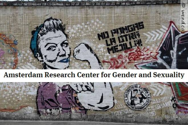 Resultado de imagen de Amsterdam Research Centre for Gender and Sexuality