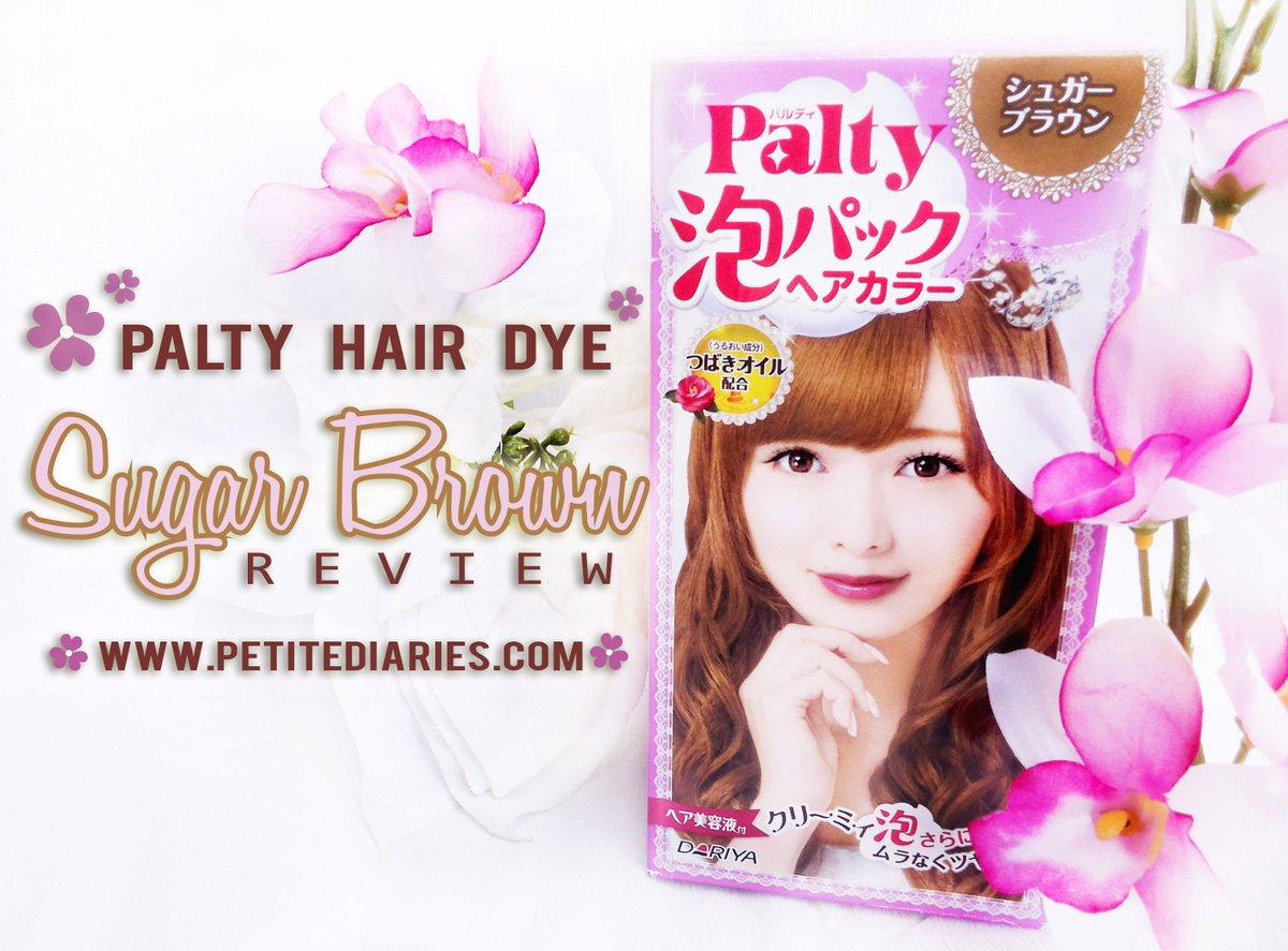 A N N On Twitter Hair Color Palty Japan Sugar Brown Review