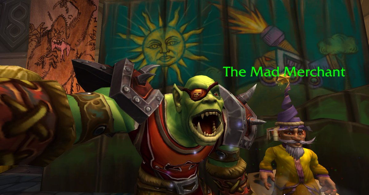Peon On Twitter The Mad Merchant S Prices Are So Insanely High It Will Drive You Mad Selfie Madmerchant Insane Warcraft