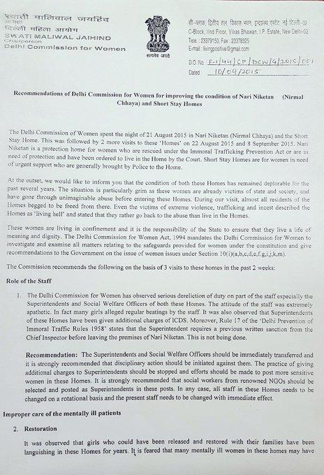 दिल्ली बीजेपी अध्यक्ष का केजरीवाल सरकार पर हमला, बोले - मालीवाल ने नारी निकेतन में